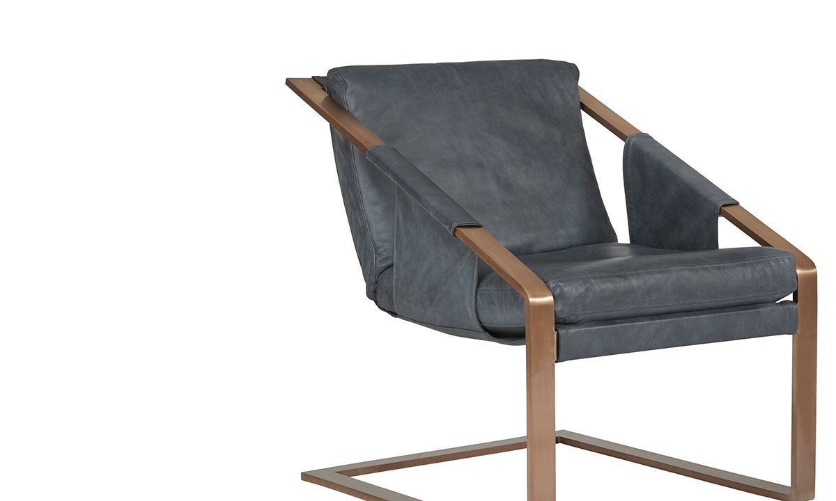 Picture of: Modern Leather Accent Chair The Dump Luxe Furniture Outlet