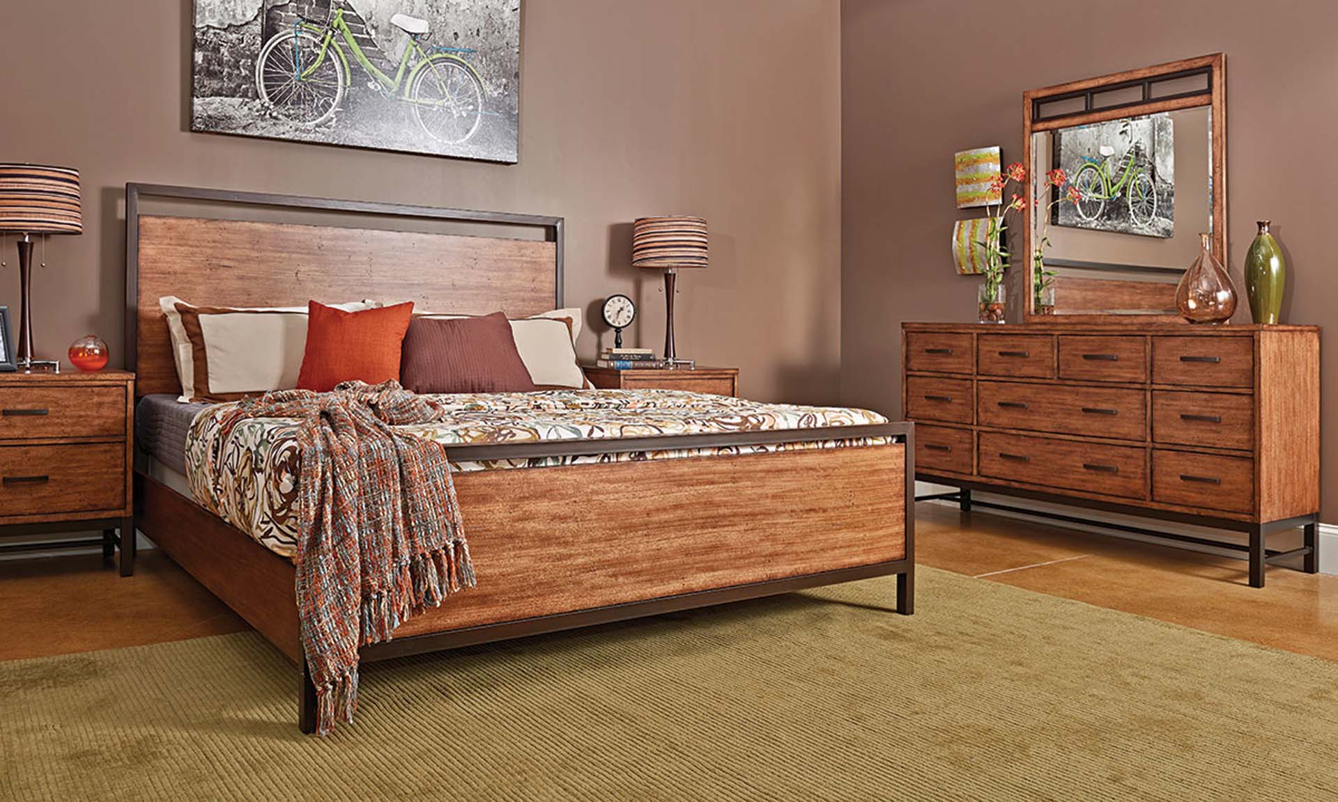 Buy Here Pay Here Atlanta Ga >> Klaussner Affinity Queen Panel Bedroom Set | The Dump Luxe ...
