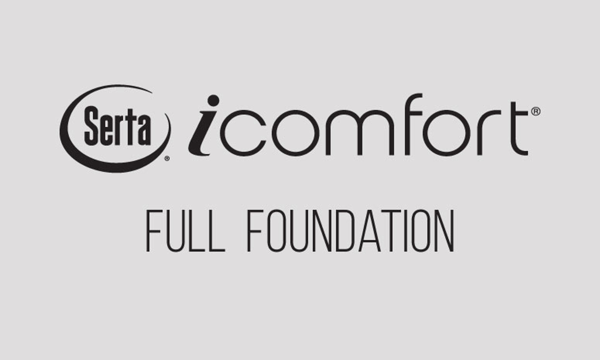 "Serta iComfort Applause 9"" Standard Full Foundation"