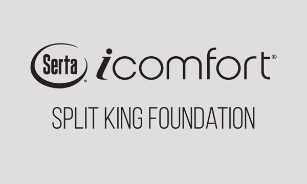 "Serta iComfort Applause 9"" Standard Split King Foundation"