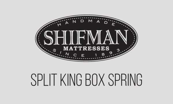 "Shifman Semiflex 8"" Standard Split King Box Spring"