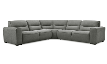 Violino Graphite Contemporary Room Size Sectional