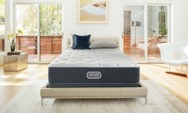 "Simmons Beautyrest Silver 12"" Luxury Firm Queen Mattress"
