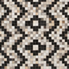 Shop the Surya Trail Collection rug with Intricate Indian hair on hide patchwork with black & white fashion forward overtones perfect for your floor decor.