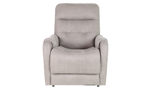 Moto Motion Taupe Tufted Lay Flat Power Lift Chair