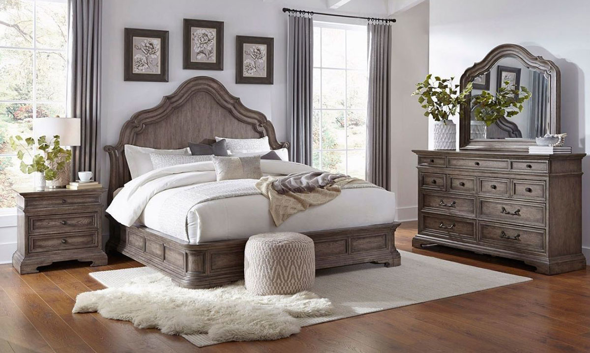 Pulaski Cordoba European Traditional Queen Mansion Bedroom The Dump Luxe Furniture Outlet