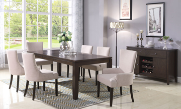 Urban Styles Chicago Modern 7-Piece Dining Set