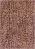 Trendy brown and tan 5x8 area rug from the Surya Banshee collection.
