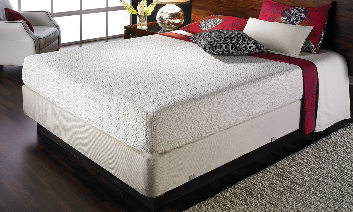 "FXI 8"" Cooling Gel Memory Foam Queen Mattress"