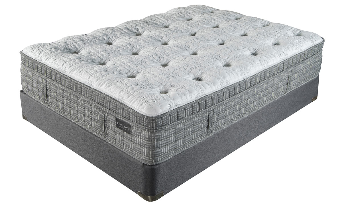 "King Koil 15.5"" Britannica Plush Mattresses"