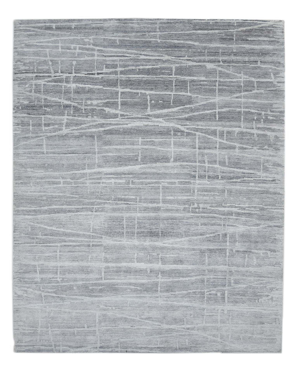 "Picture of Modern, Hand Knotted Rug - 8'11"" x 12'1"""