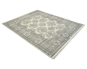 """Picture of Transitional, Handmade Rug - 7'9"""" x 9'7"""""""