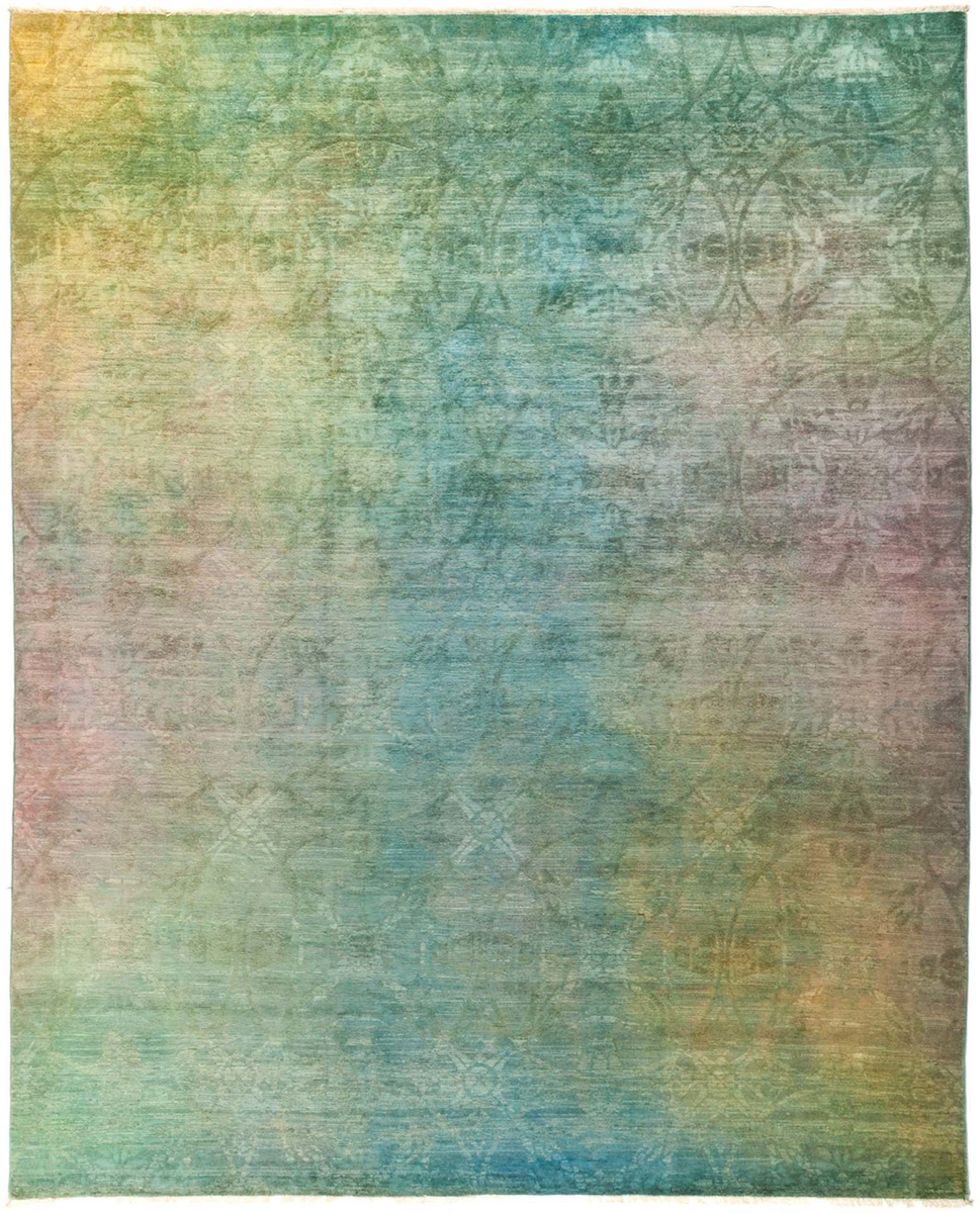 "Picture of Vibrance, Hand Knotted Rug - 8'2"" x 10'1"""