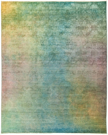 """Picture of Vibrance, Hand Knotted Rug - 8'2"""" x 10'1"""""""