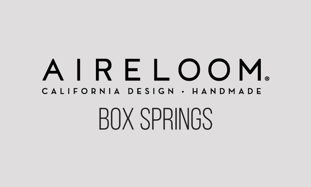 Aireloom Tweed 8-Way Hand-Tied Box Springs