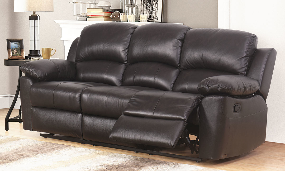 Toscana Leather Reclining 2 Piece Living Room Set The