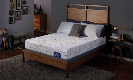 "Serta Perfect Sleeper 10"" Medium Plush Memory Foam Mattresses"