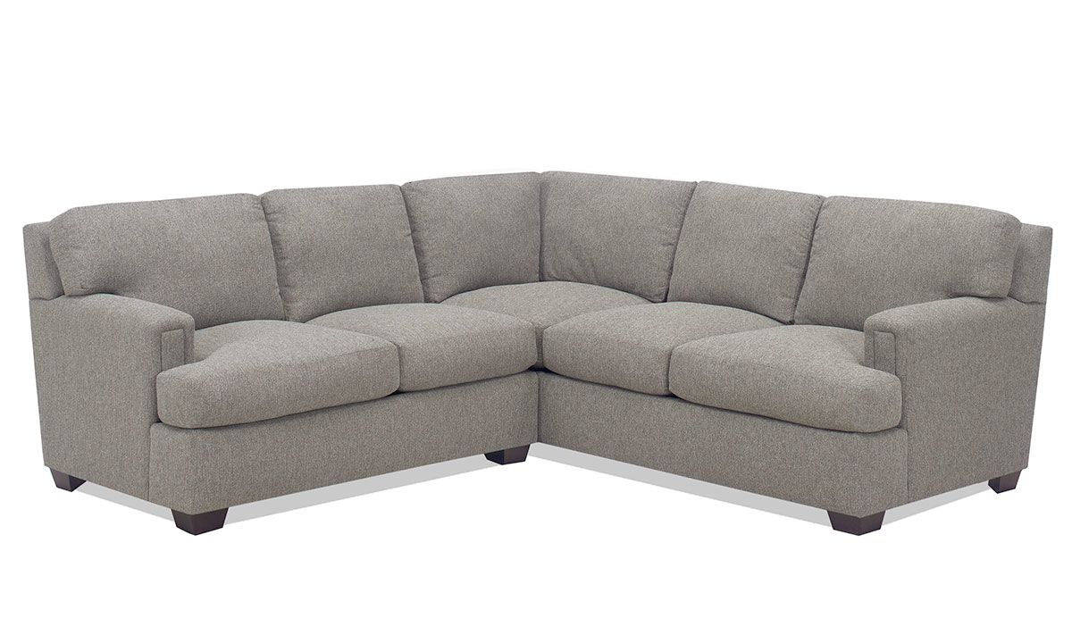 Carolina Custom Bowden 2-Piece Sectional Charcoal