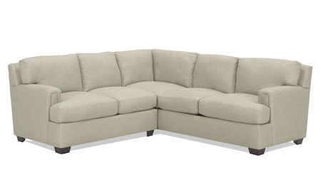 Carolina Custom Bowden 2-Piece Sectional Flax