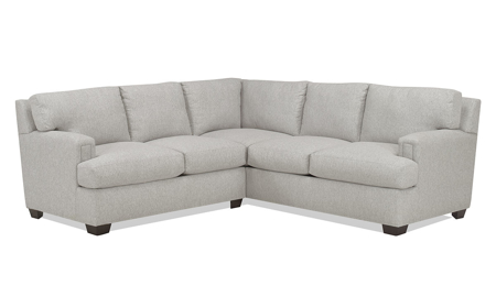 Carolina Custom Bowden 2-Piece Sectional Stone