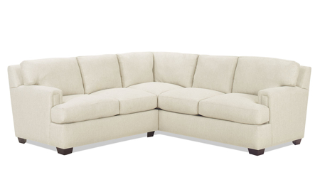 Carolina Custom Bowden 2-Piece Sectional Linen