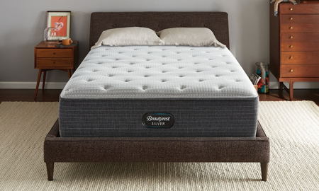 "Simmons Beautyrest 12.5"" Silver 900 Firm Mattresses"