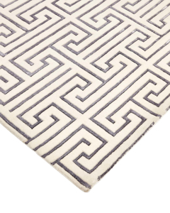 Picture of Sadie Ivory, Hand Knotted Area Rug