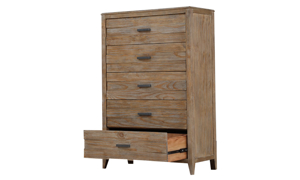 Torino Rustic Pine 5-Drawer Chest