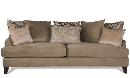 Melon Mushroom Contemporary Parisian Sofa