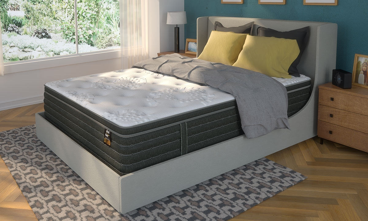 "King Koil 120th Anniversary Gold 15"" Euro Top King Mattress"