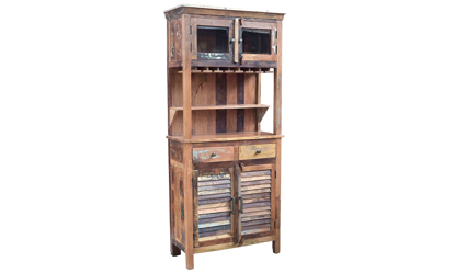 Hooka Handmade Solid Wood Bar Cabinet