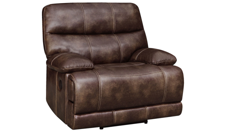 Klaussner Rizzo Power Recliner Warmack Brown