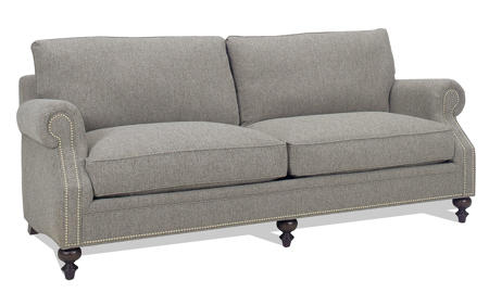 Carolina Custom Sherwood Sofa Charcoal