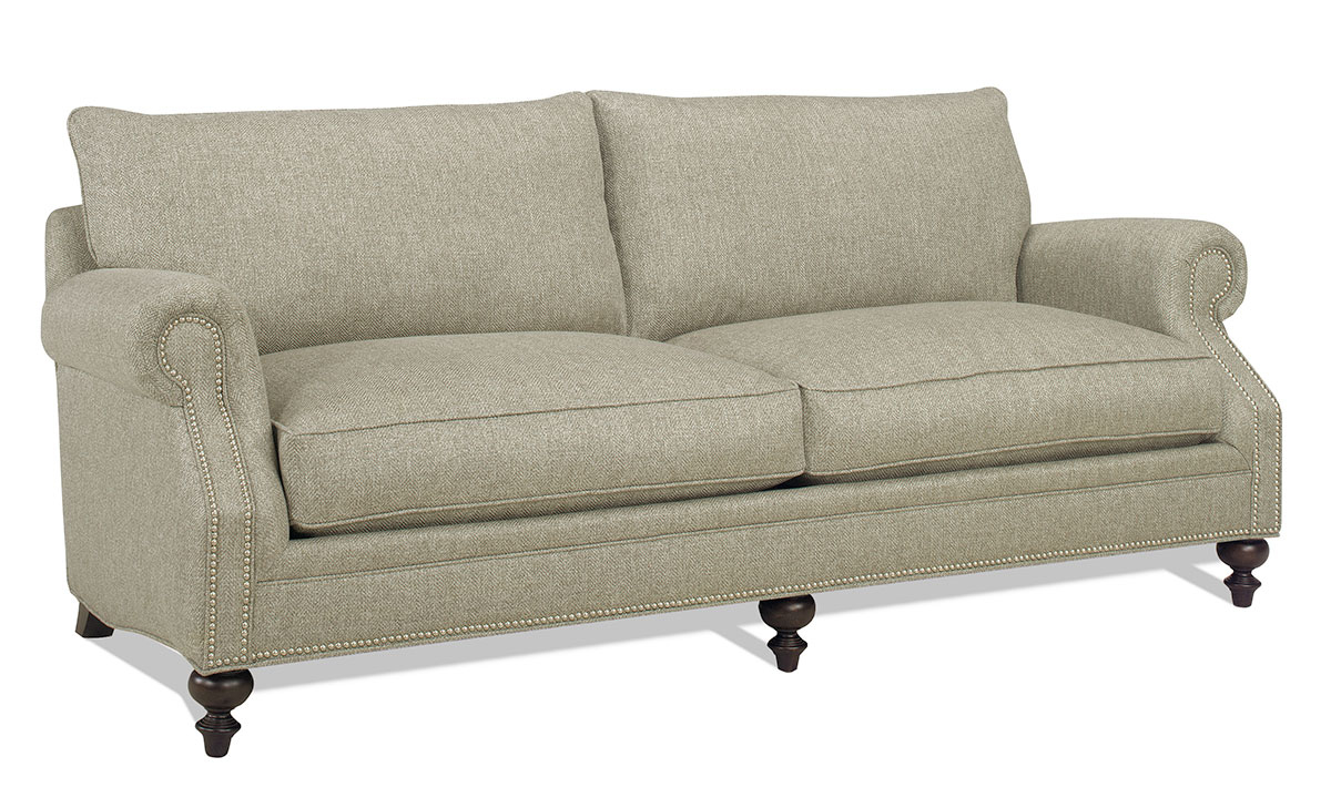 Carolina Custom Sherwood Sofa Warm Grey