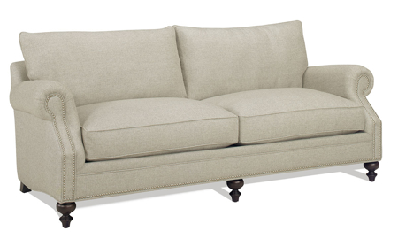 Carolina Custom Sherwood Sofa Flax