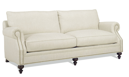 Carolina Custom Sherwood Sofa Linen