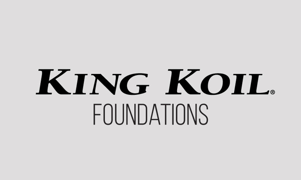"King Koil Lacey 9"" Standard Foundations"