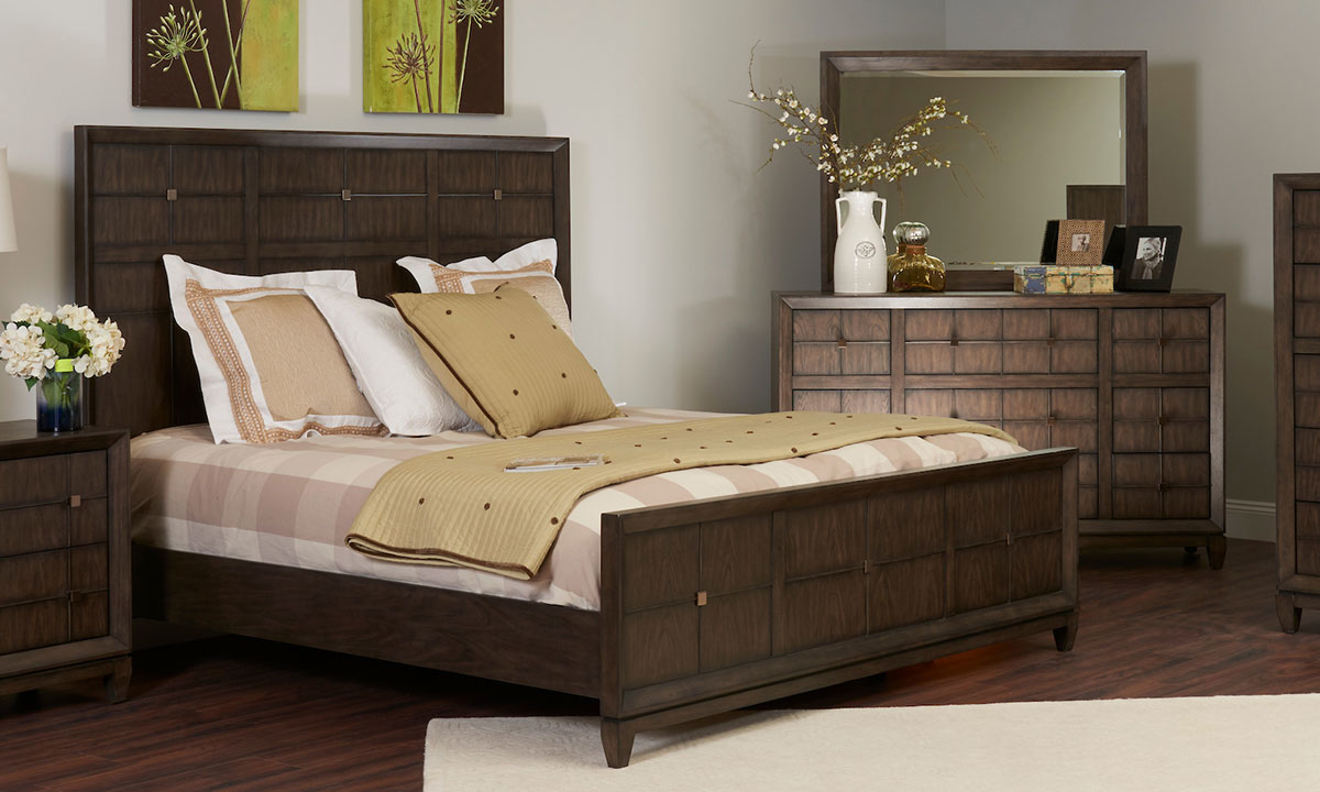 Regency Mink 5-Piece King Bedroom Set