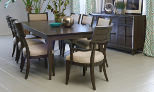 Regency Mink 5-Piece Dining Set