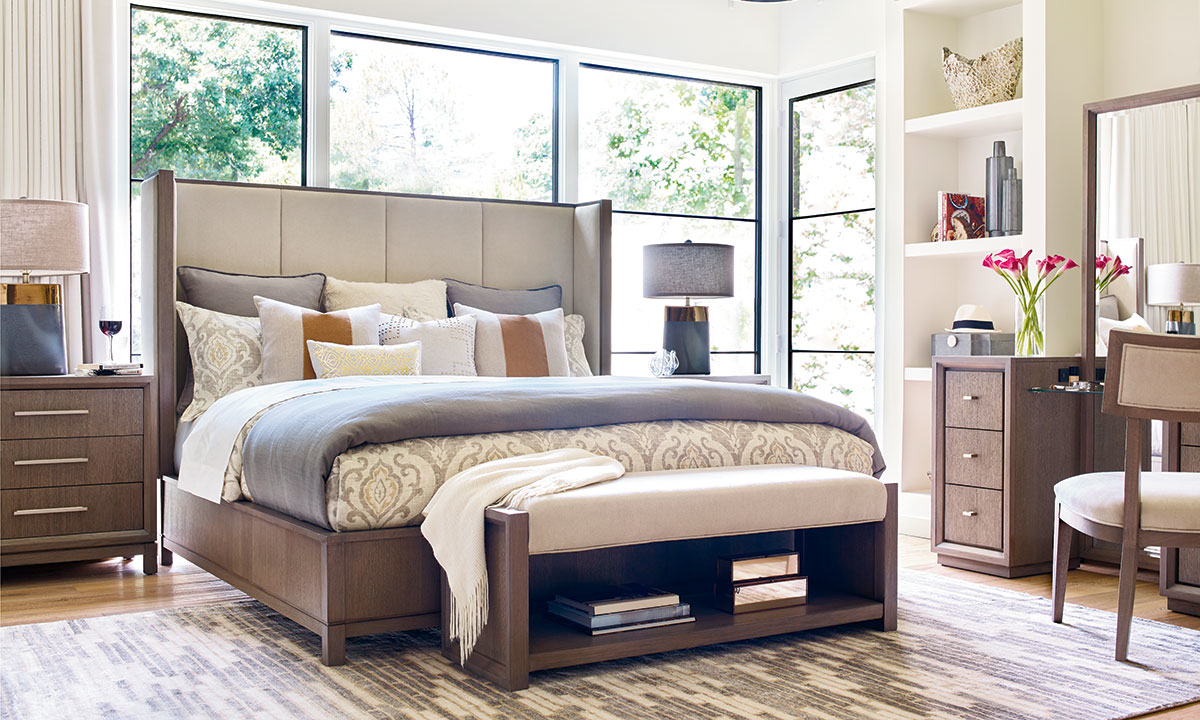 Rachael Ray Highline 7 Piece King Bedroom Set The Dump Luxe