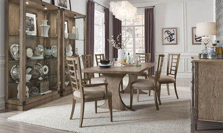 Pulaski Furniture Documentary 7-Piece Dining Set