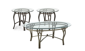 Steve Silver Madrid 3-Piece Occasional Table Set