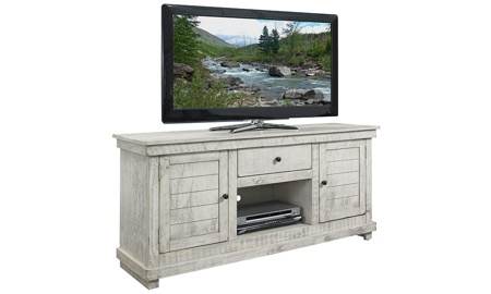 Hillsdale Villa 60-inch Entertainment Console Ivory