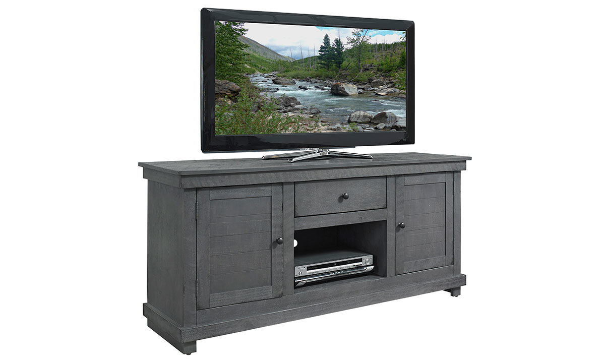 Hillsdale Villa 60-inch Entertainment Console Grey