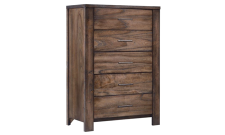 Glenbrook Brown 5-Drawer Chest