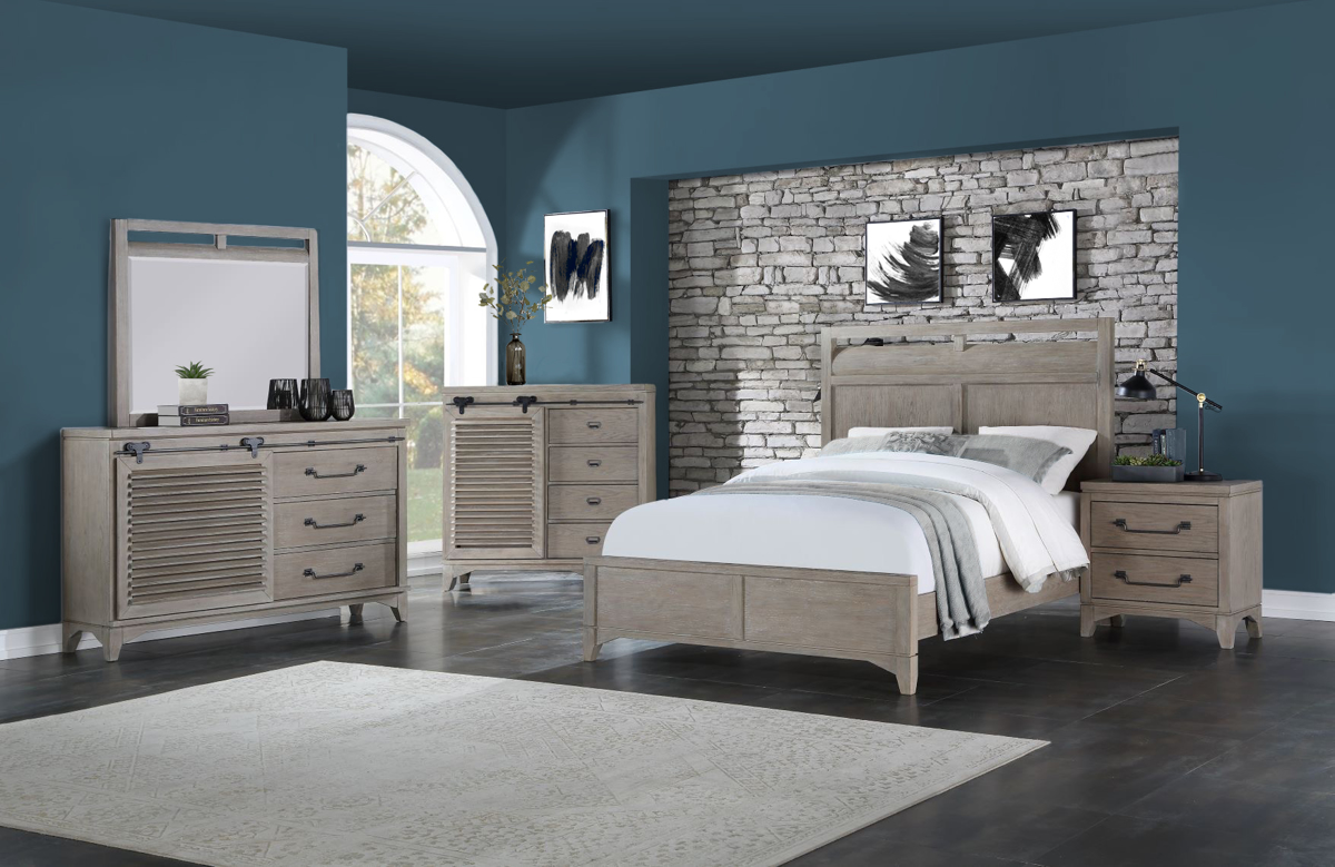 Harborside 5-Piece Queen Bedroom Set Sandstone