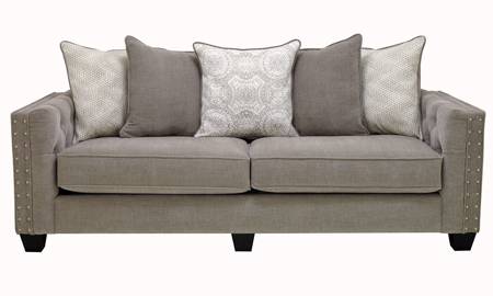 Crawford 91-Inch Tufted Scatter Back Sofa