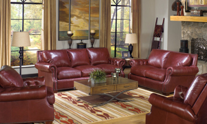 Rocky Mountain Leather Marsala Sofa