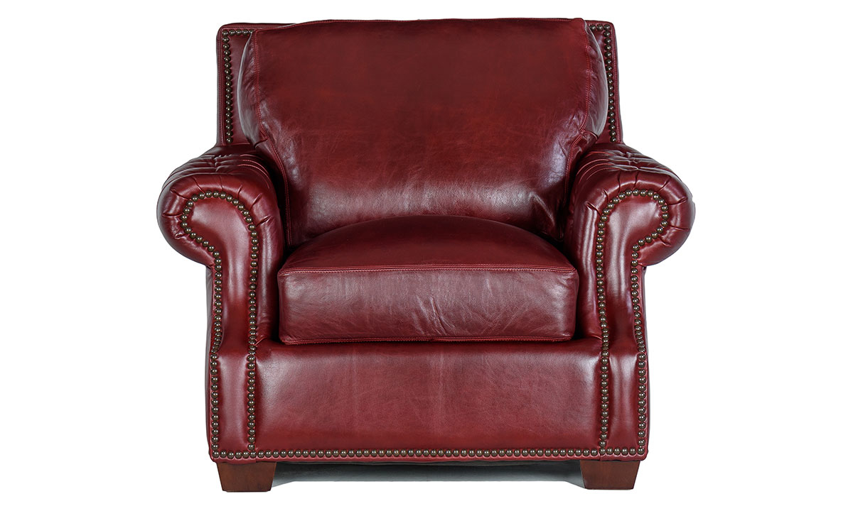 Rocky Mountain Leather Marsala Arm Chair The Dump Luxe