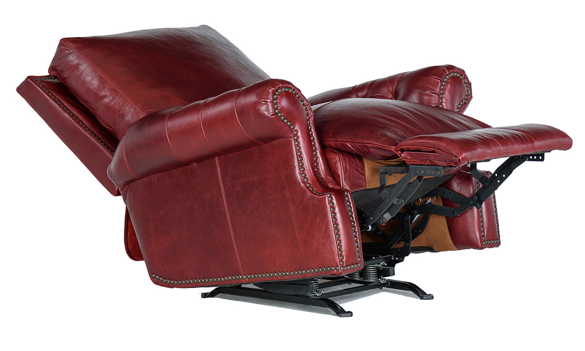 Rocky Mountain Leather Marsala Recliner